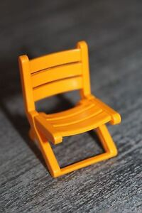 playmobil v115 camping chaise pliante jaune camping car jardin ebay. Black Bedroom Furniture Sets. Home Design Ideas