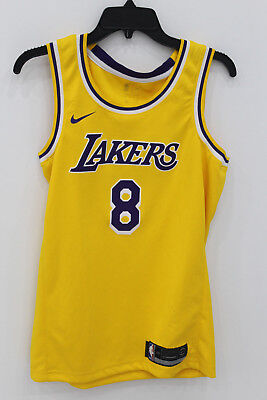 e81d4af59fa5 Men's Nike Los Angeles Lakers NBA Kobe Bryant Icon Edition Connected Jersey  S