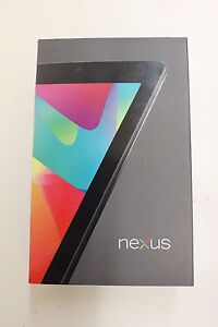BRAND NEW SEALED Nexus 7 32GB, Wi-Fi, 7in - Black