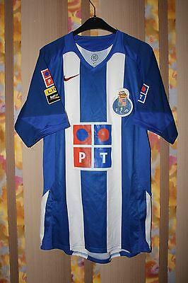 FC PORTO PORTUGAL 2004/2005 HOME FOOTBALL JERSEY SHIRT CAMISETA MAGLIA NIKE image