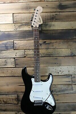 Squier Affinity Strat Stratocaster Electric Guitar - Black  #R6390