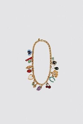 ZARA SS20 COLLECTION  MULTI-CHARM NECKLACE
