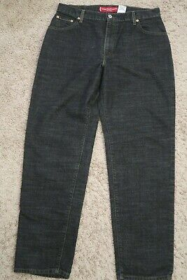 ... Mens Jeans size 14 Mis M Levis Strauss 550 Classic Relaxed Stretch black  14 Classic Men Jeans