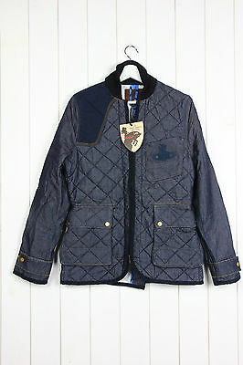 1084324ade NEW VIVIENNE WESTWOOD ANGLOMANIA X LEE HUNTING QUILTED DENIM JACKET S M L XL