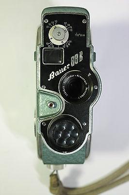 Bauer 88 B Filmkamera mit Schneider-Kreuznach 1:1,9/13 mm gut erhalten