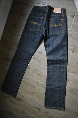 Nudie Jeans CO BOOTCUT OLA DRY LIGHT Mens Organic Jeans W 30 L 34 slightly used