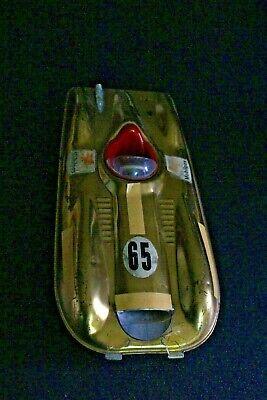 FUTURISTIC Mobil Gas Advertising 1950s Mattel MOBILGAS Vintage Toy Friction Car