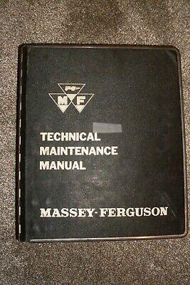 Massey Ferguson Technical Maintenance Manual Binder 2135 Tractor Original Vol. 3