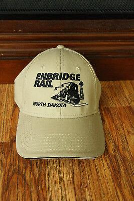 Enbridge Rail North Dakota Adjustable Hat Cap Railroad Train Ernd Embroidered
