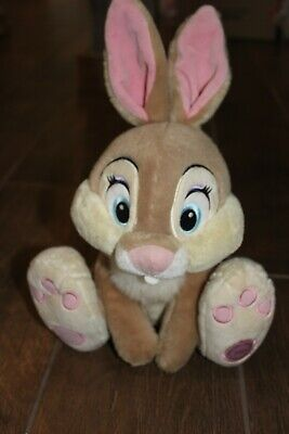 "VG Disney Store Thumper Rabbit Plush Toy Stuffed Animal Bambi! 14"" Tall. So Soft"