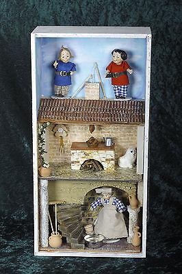 Max und Moritz Diorama Roombox