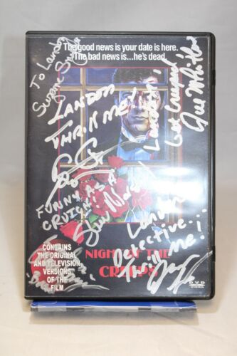 Night of the Creeps DVD Case - 6 Signatures with Tom Atkins