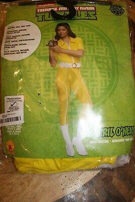 Ninja Turtle April Costume (Rubie's Teenage Mutant Ninja Turtles April O'Neil Deluxe Adult Costume -)