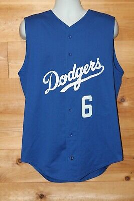 Vintage Teamwork Dodgers Steve Garvey #6  Diamond Core Mesh Baseball Jersey XL Diamond Core Jersey