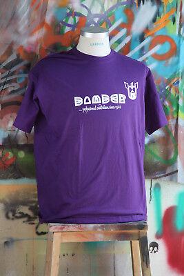 Graffiti Logo T-shirt (Bomber Logo T-Shirt - Graffiti - Urban Art - Street Art - Lila - B&C Exact 190 )
