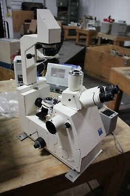 Zeiss Axiovert 10  Inverted Microscope