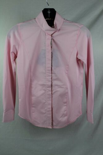 Ariat Girls Triumph Liberty Show Shirt, Blossom Pink, 10014699, (WS 3,4,5)