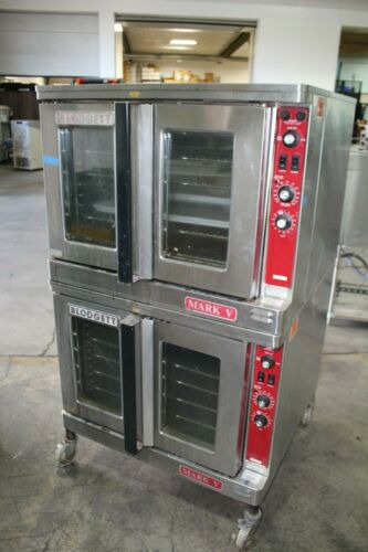 BLODGETT DIGITAL MARK V COMMERCIAL ELECTRIC CONVECTION OVEN 3 PHASE DOUBLE STACK