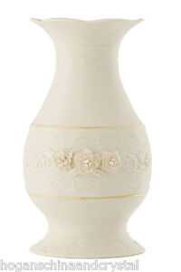 Belleek Annual Piece 2013 Magnolia 12 Inch Vase