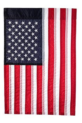 Embroidered Stars American Flag Show United States Patriotic Support 12
