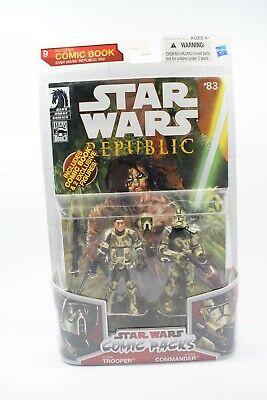 Clone Trooper Commanders (Star Wars Legacy Comic Pack Bogey Squad Camo Clone Trooper & Commander Carded)