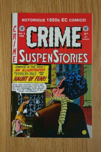 EC Reprint Crime SuspenStories #6 (Feb,1994) Modern Age Comic