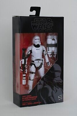 Star Wars The Black Series 6 inch: #16 First Order Flametrooper New Unopened
