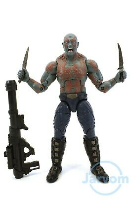 "Marvel Legends 6"" Inch Titus BAF Wave Guardians of Galaxy Drax Loose Complete"