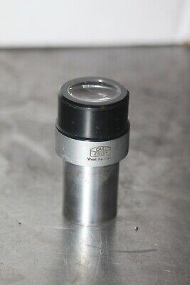 Carl Zeiss Microscope Eyepiece Kpl-w 12.5x
