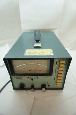 Millivac Instruments Rf Millivoltmeter Voltmeter Meter Mv-823a-1 Electronic D
