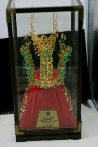 Vintage Chunma Chong Gold Crown National Treasure No. 188