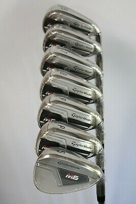 TAYLORMADE M6 IRONS 5-SW REGULAR FLEX STEEL