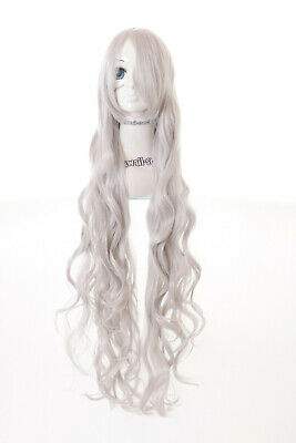 PL-005 Angel Sanctuary Rosiel silber grau Locken 100cm lang Cosplay Perücke Wig (Angel Sanctuary Cosplay)