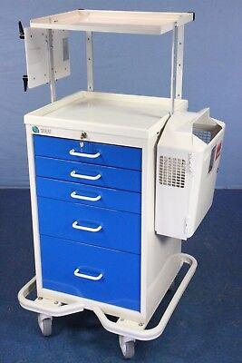 New Style Fhc Medical Crash Cart Medical Supply Cart With Key Warranty