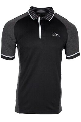 Hugo BOSS Paule Pro 3 Slim Fit Mens Polo Moisture Wicking Fabric 50412899 001 Hugo Boss Moisturizing Moisturizer