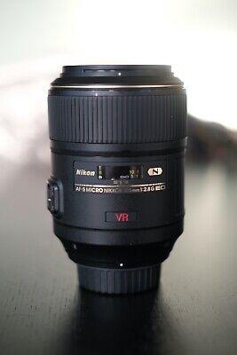 Nikon Micro NIKKOR 105mm f/2.8 G SWM AF-S VR IF N M/A ED Lens