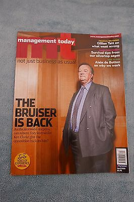 Management Today Magazine: April 2009, Ken Clarke