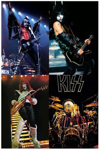 KISS 1977 LOVE GUN CUSTOM 24x36 QUALITY POSTER MINT PAUL GENE ACE PETER LMT ED