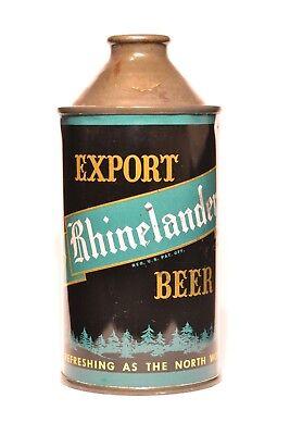 Rhinelander Export Beer Cone Top Beer Can