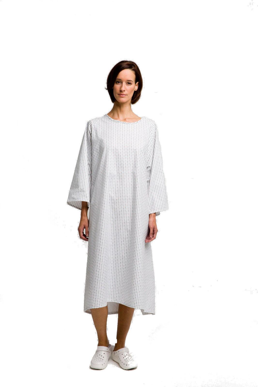 Patientenhemd OTTO Krankenhemd Pflegehemd Nachthemd Patientenhemd Einheitsgröße