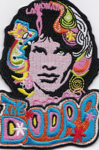 THE DOORS - JIM MORRISON/LA WOMAN - IRON or SEW ON PATCH