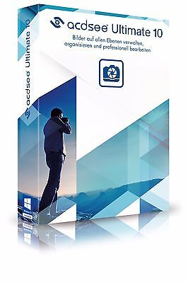 ACDSee Ultimate 10 CD/DVD ACDSee Systems  inkl. Steganos Privacy Suite 17 auf CD
