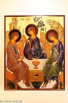 icon holy trinity  святая троица икона 20х24cm