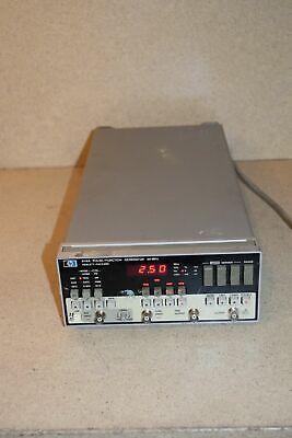 Hewlett Packard Hp 8116a Pulse Function Generator 50mhz Kj1