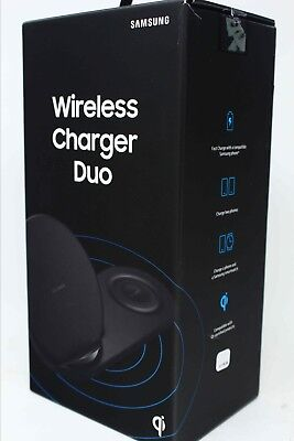 Samsung Fast Charging Wireless Charger Duo Pad Stand Galaxy S10 S9 Note9 Gear (Samsung Galaxy Note 3 Wireless Charging Pad)