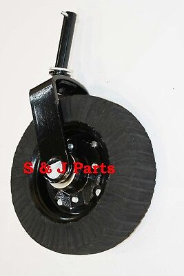 Heavy Duty Tail Wheel Assembly 1 14 Yoke-bush Hog Rhino Woods Land Pride...