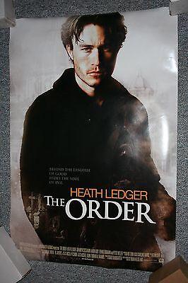 THE ORDER Original DS Movie Poster 2003    HEATH LEDGER    SHANNYN SOSSAMON