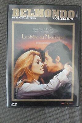 DVD la sirène du mississippi TBE 1969 jean paul belmondo deneuve