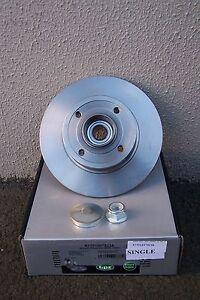 REAR BRAKE DISC WITH BEARING SINGLE RENAULT MEGANE II X84 7701207823
