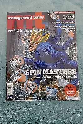 Management Today Magazine: January 2013, PR Spin Masters